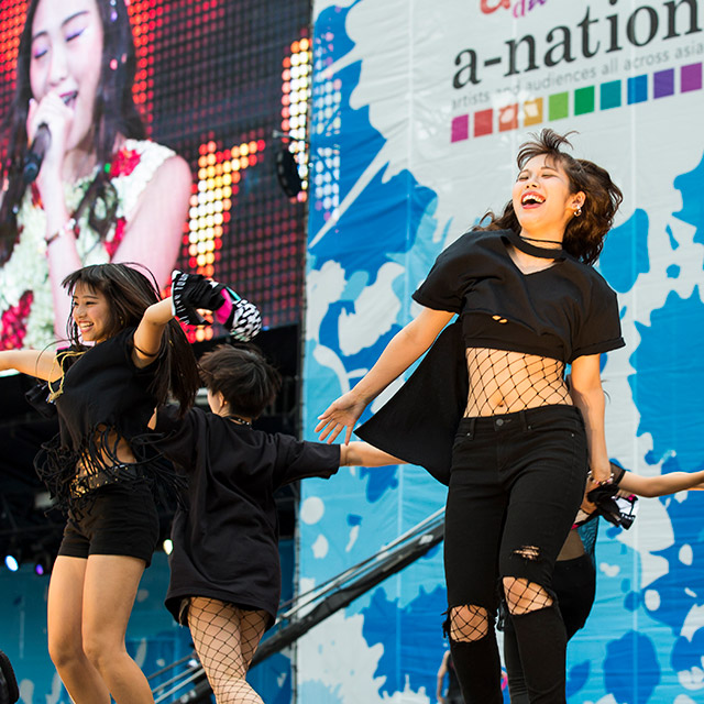 a-nation Stadium fes. lol盛り上げダンサー