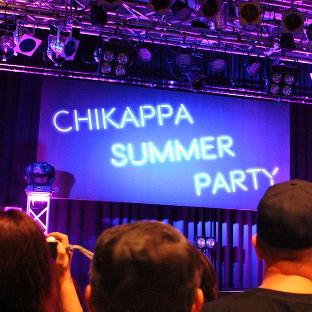 ちかっぱ summer party レポート