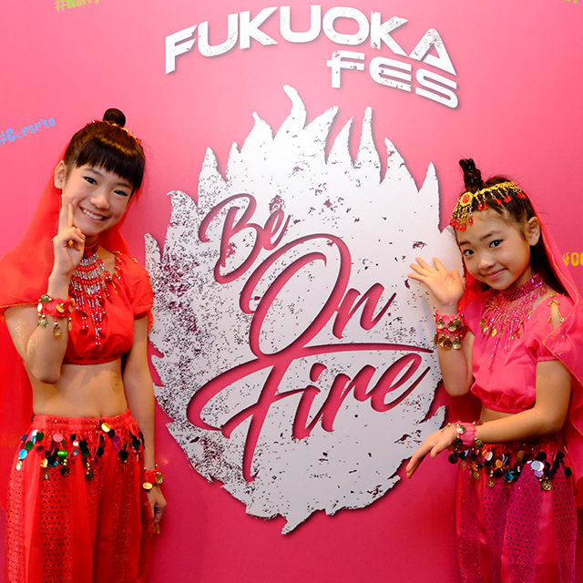 FUKUOKA fes 2018 ‐BE ON FIRE‐